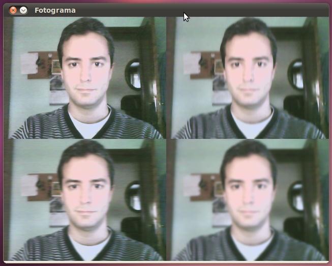 Captura de imagen con OpenCV